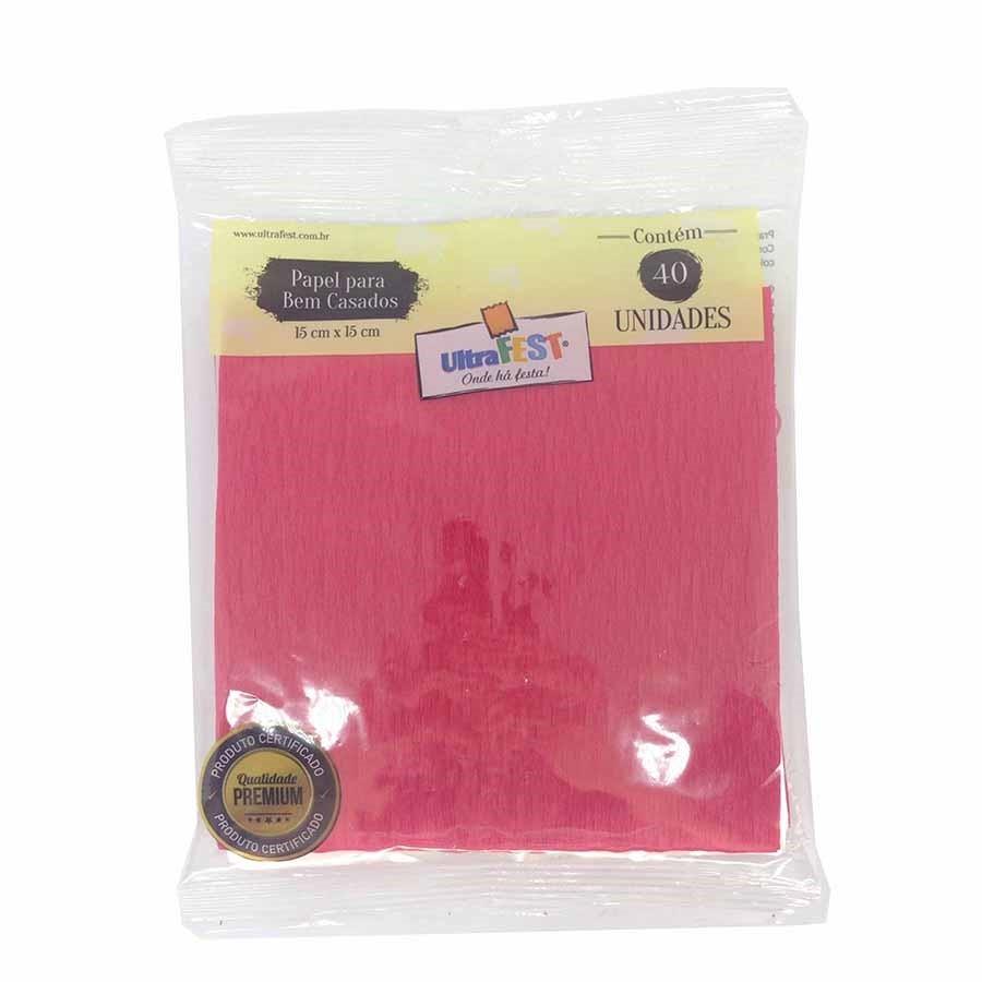 Embalagem Bem Casado Vermelho - Ultrafest