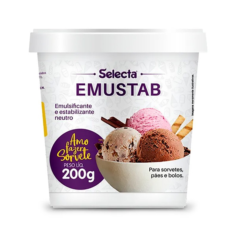 Emulsificante e Estabilizante Neutro Emustab 200g - Mix