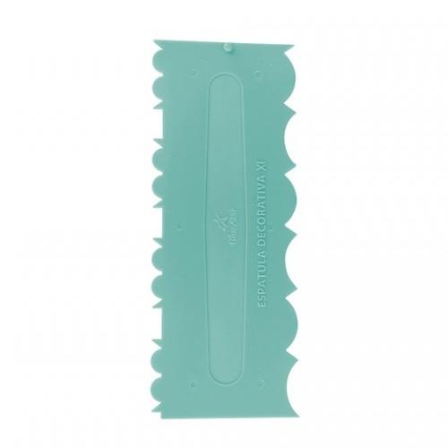 Espátula Decorativa Plástico Nº 11 Verde Tiffany - BlueStar