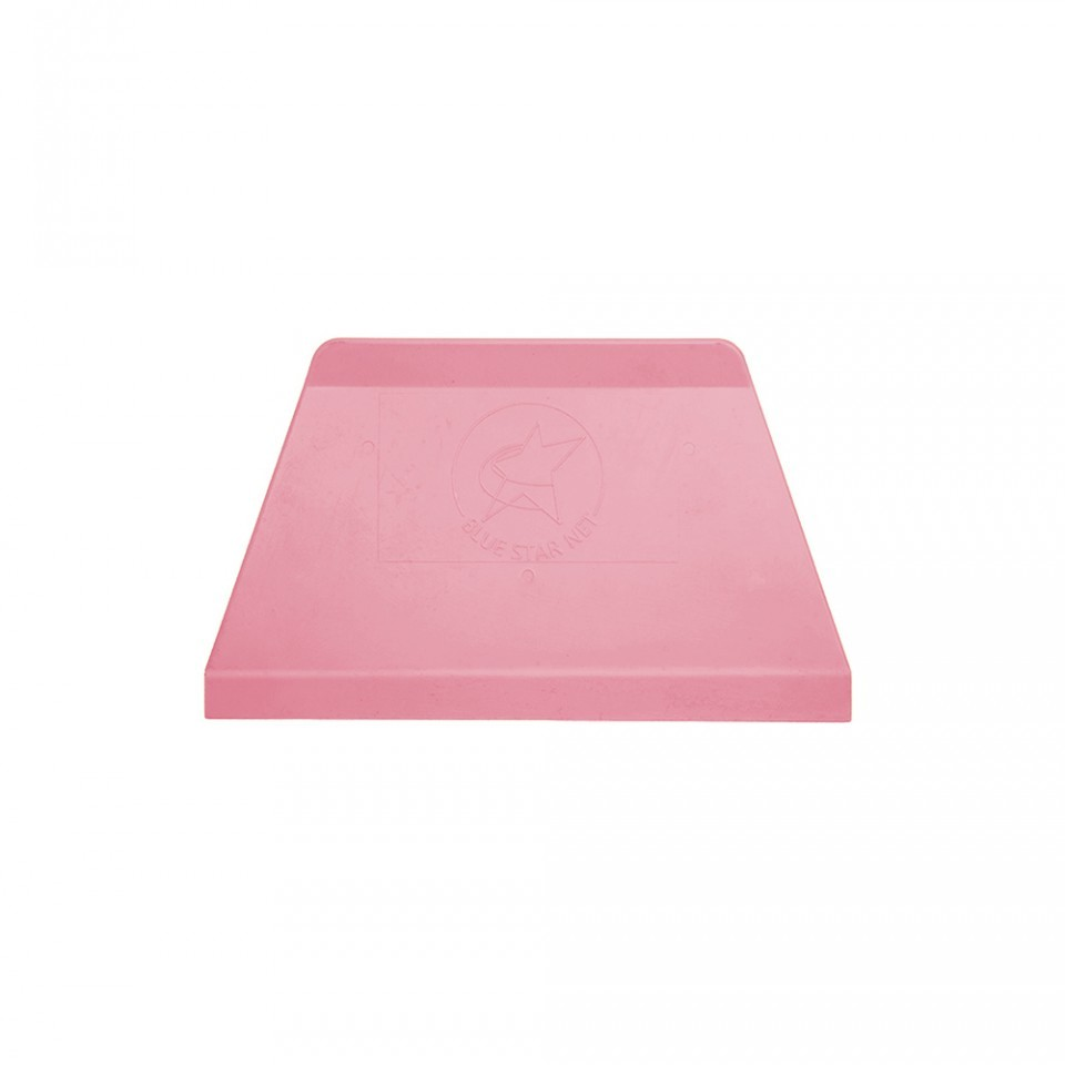 Espátula Raspadora Plástico Nº 1 Rosa Bebê - BlueStar