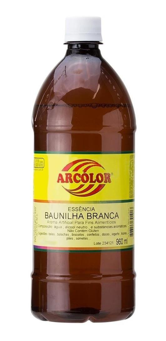 Essência Baunilha Branca 960ml - Arcolor