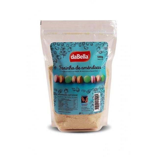 Farinha de Amêndoas p/ Confeitaria 500g - DaBella