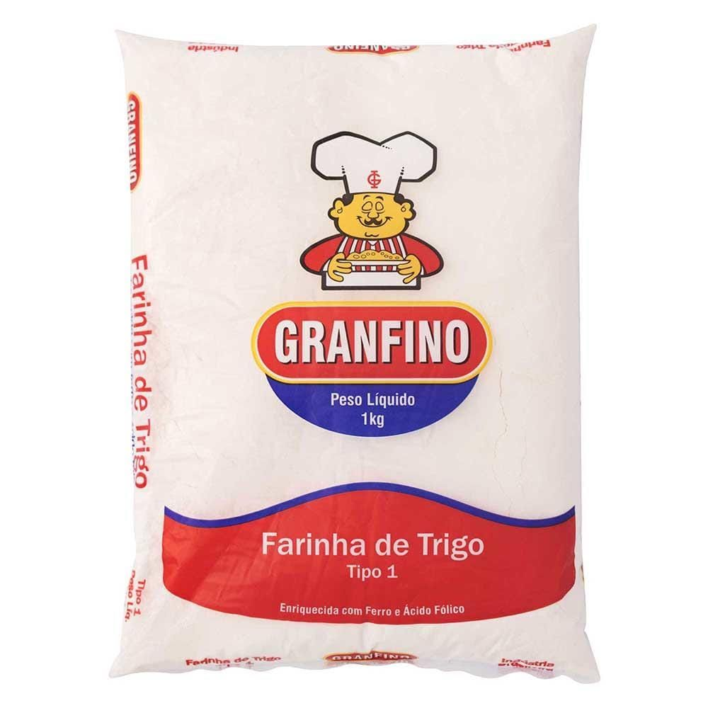 Farinha de Trigo 1kg - Granfino