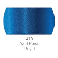 Fita de Cetim Duplo CF007 30mm 214 Azul Royal - Progresso