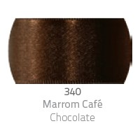 Fita de Cetim Duplo CF009 38mm 340 Marrom Café - Progresso