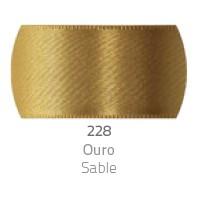 Fita de Cetim Duplo T900/000 4mm 228 Ouro - Progresso