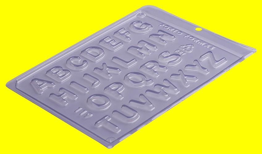 Forma de Acetato Alfabeto - Porto Formas