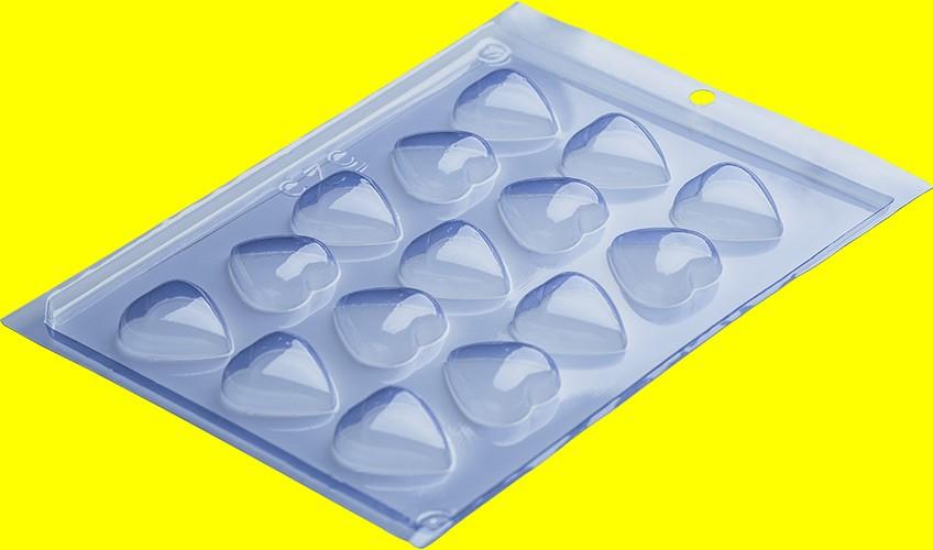 Forma de Acetato BomBom Coração - Porto Formas