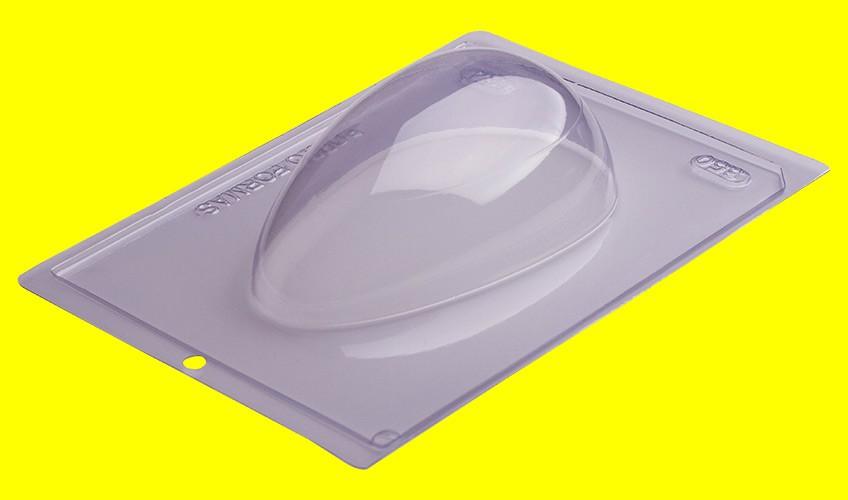 Forma de Acetato c/ Silicone Ovo Liso 350gr Especial - Porto Formas