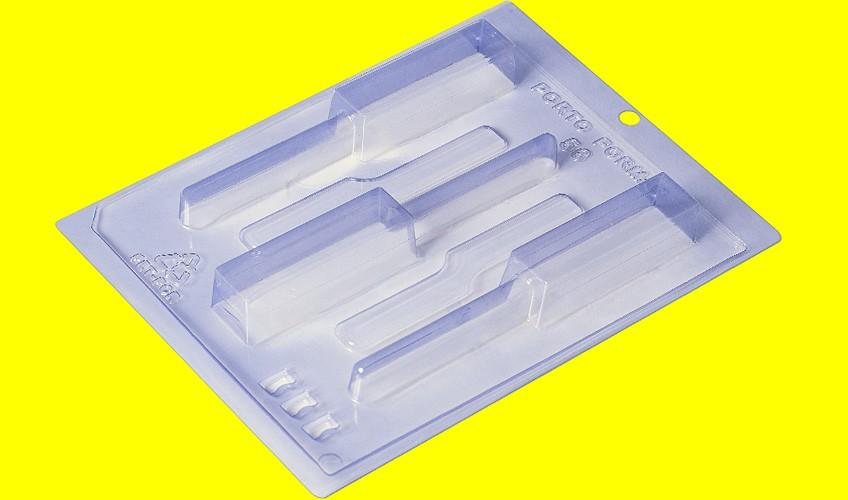 Forma de Acetato c/ Silicone Pirulito Vertical Especial - Porto Formas