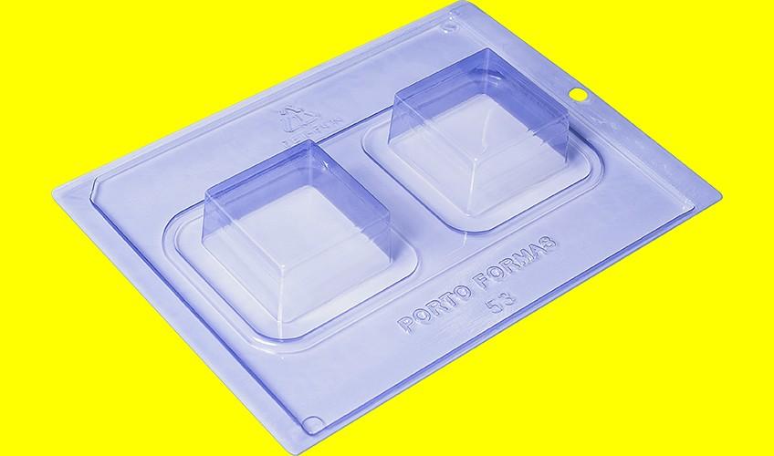 Forma de Acetato c/ Silicone PopCake Quinado Especial - Porto Formas