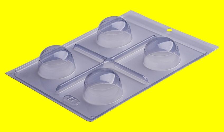 Forma de Acetato c/ Silicone Trufa Grande Especial - Porto Formas