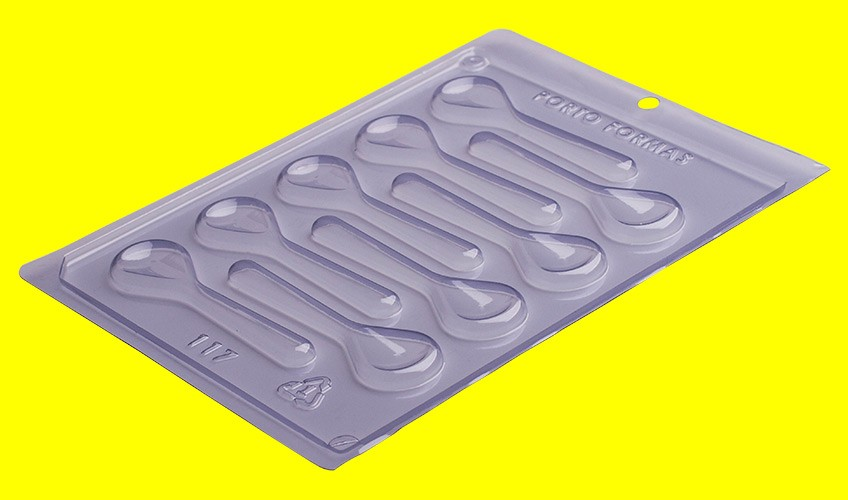 Forma de Acetato Colherzinhas - Porto Formas