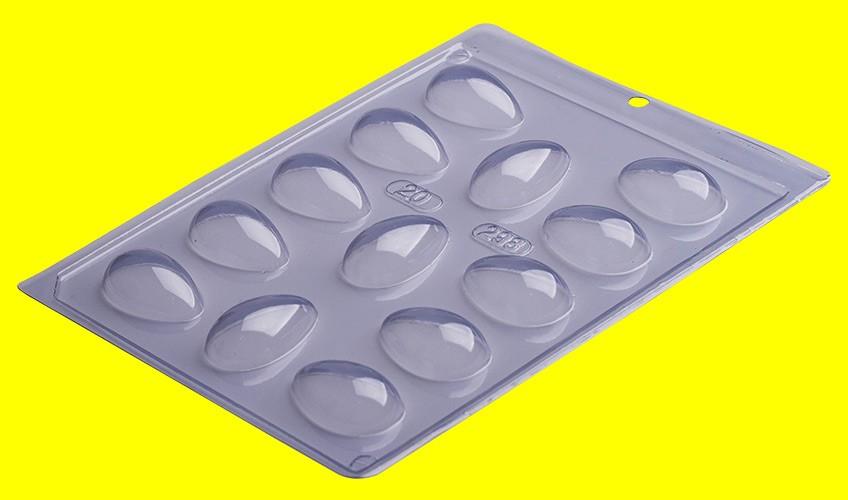 Forma de Acetato Ovo Liso 20g - Porto Formas