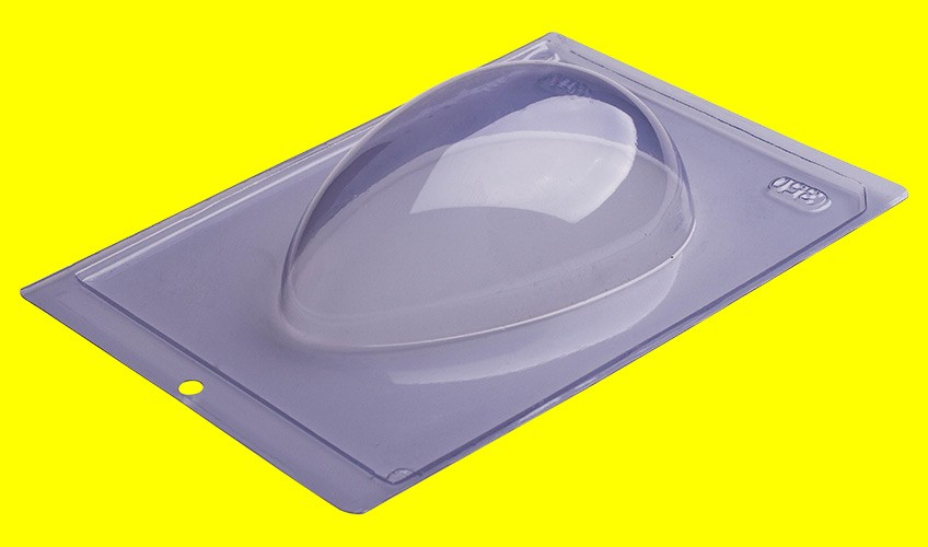 Forma de Acetato Ovo Liso 350g - Porto Formas