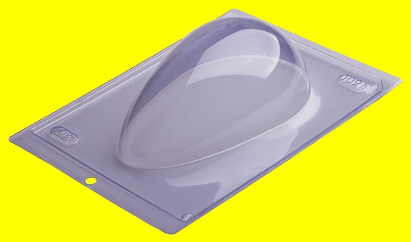 Forma de Acetato Ovo Liso 500g - Porto Formas