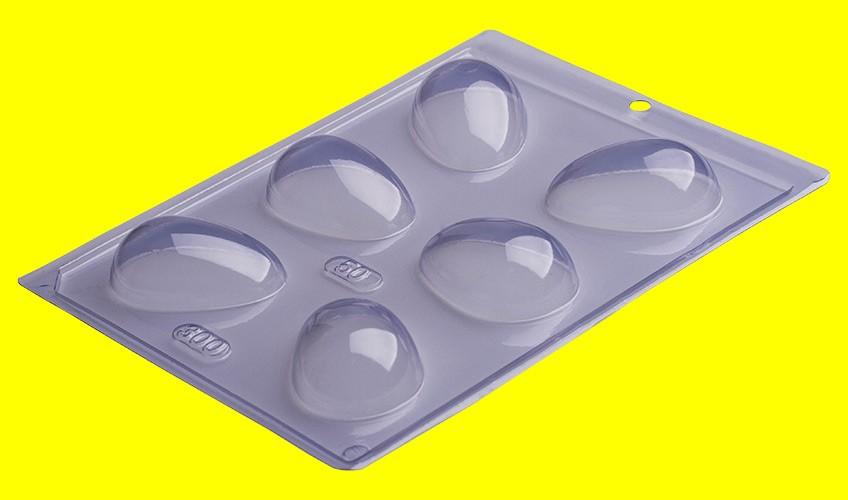 Forma de Acetato Ovo Liso 50g - Porto Formas