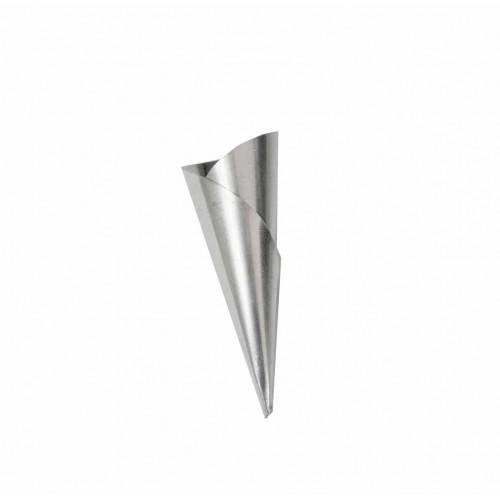 Forma Para Canudo Folhado Nº2 Alumínio 12 Unidades - Caparroz