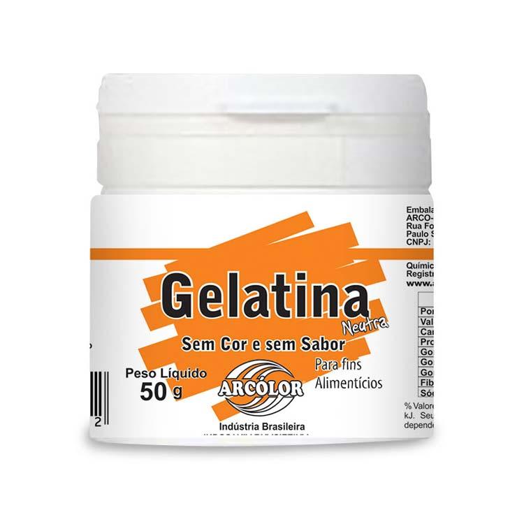 Gelatina Neutra 50gr - Arcolor