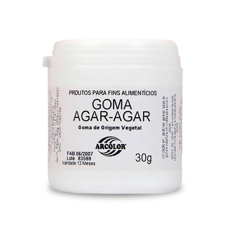 Goma Agar-Agar 30gr - Arcolor