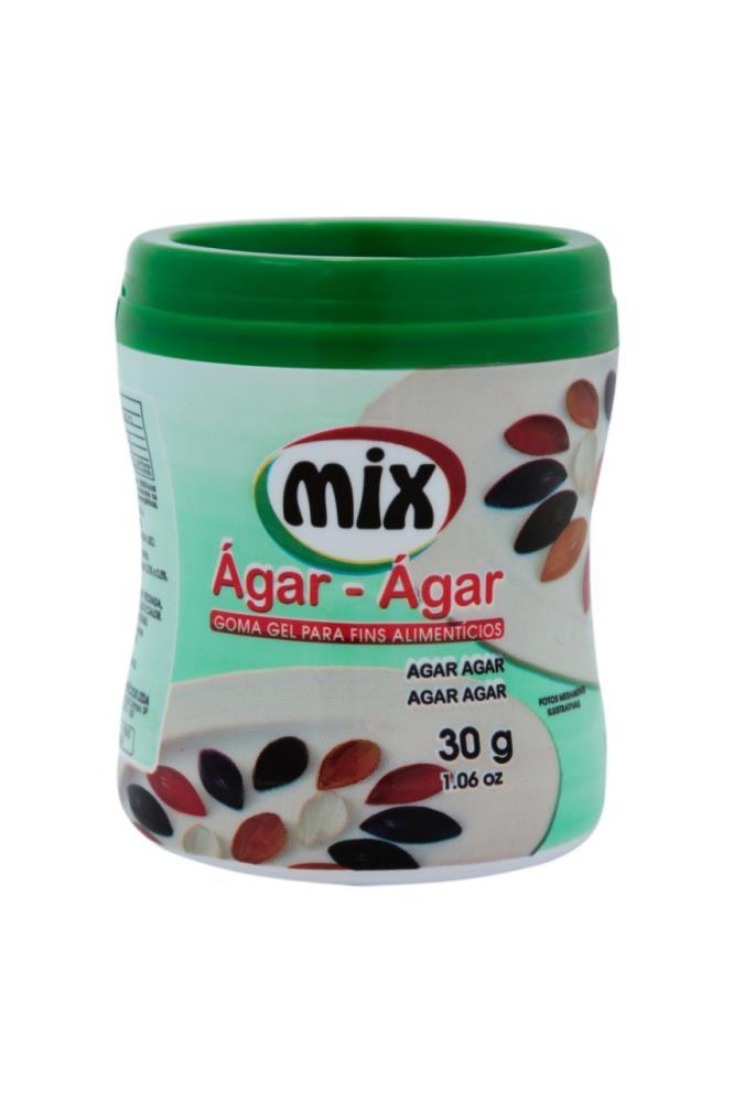 Goma Gel Ágar-Ágar 30g - Mix