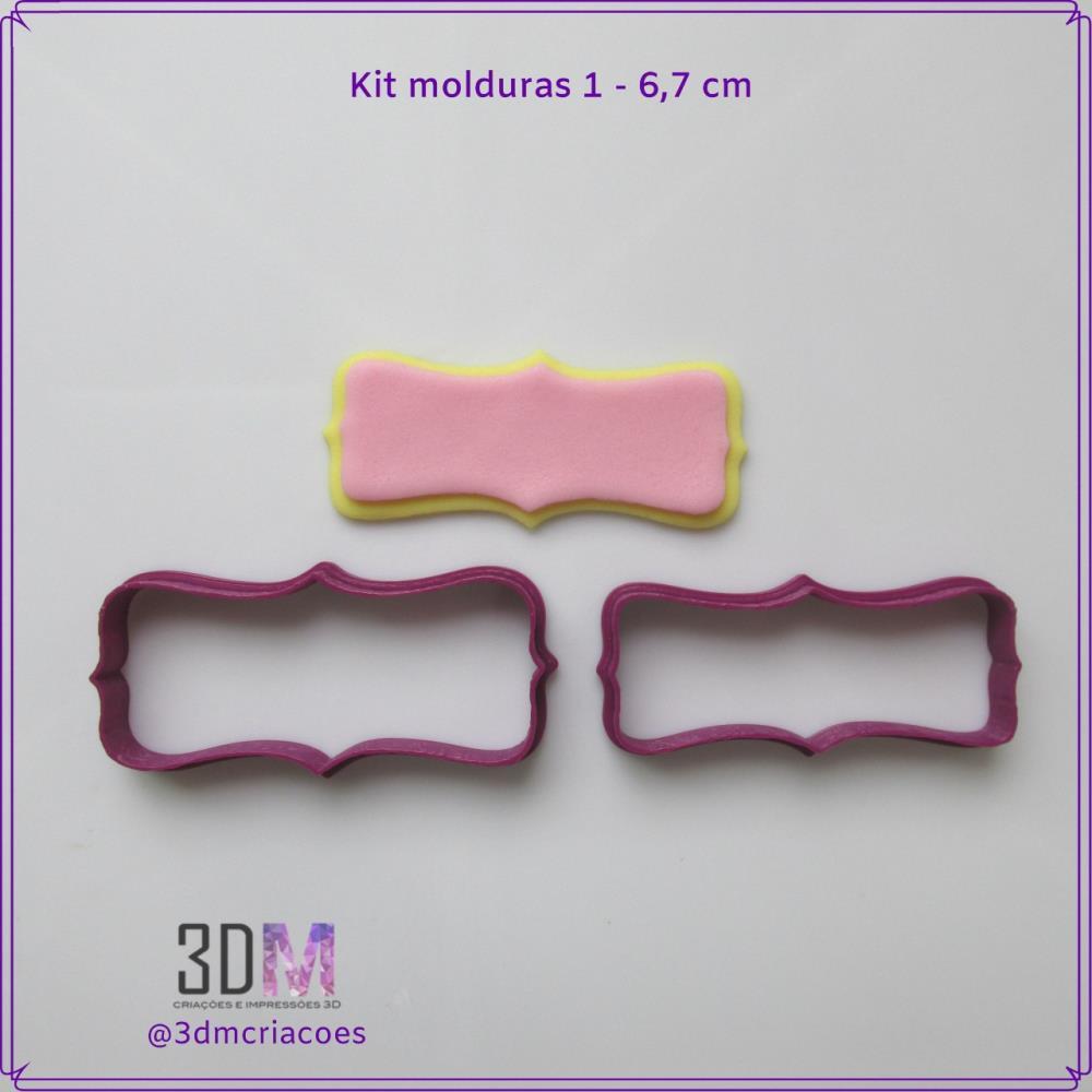 Kit Moldura Nº1 - 3DM