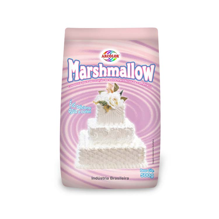 Marshmallow 500gr - Arcolor