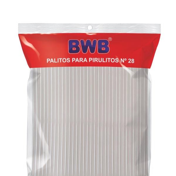 Palito p/ Pirulito Grande Cristal c/ 50un - BWB