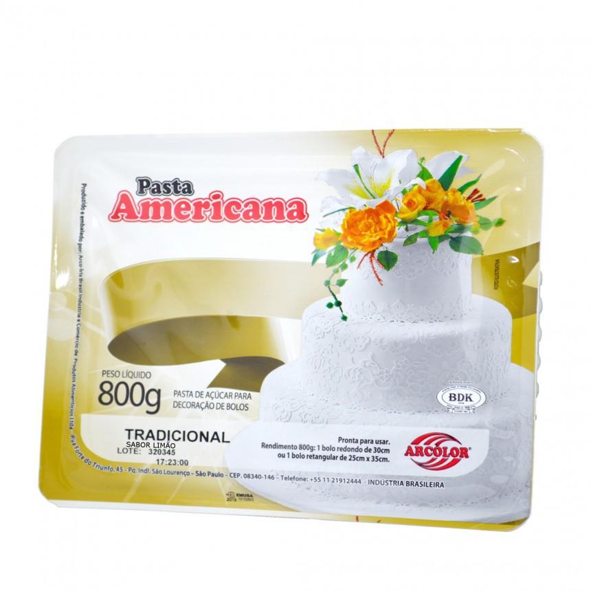 Pasta Americana 800gr - Arcolor