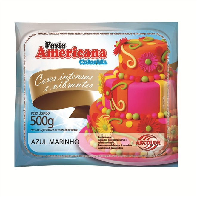 Pasta Americana Marinho 500gr - Arcolor