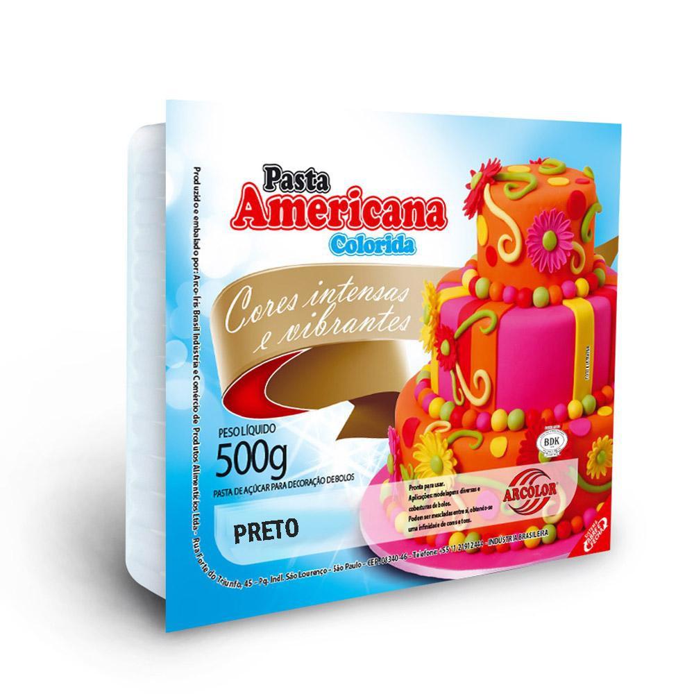 Pasta Americana Preta 500gr - Arcolor
