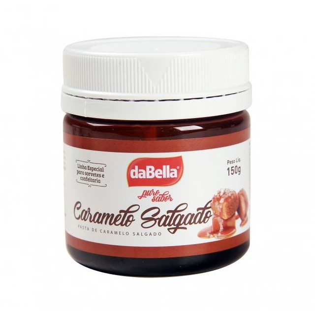 Pasta Saborizante Caramelo Salgado 150g Puro Sabor - DaBella