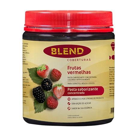 Pasta Saborizante Frutas Vermelhas 90g - Blend