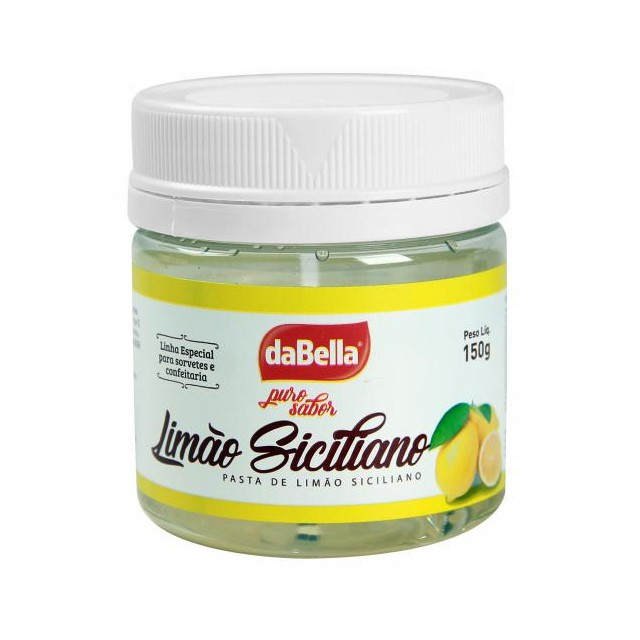 Pasta Saborizante Limão Siciliano 150g Puro Sabor - DaBella