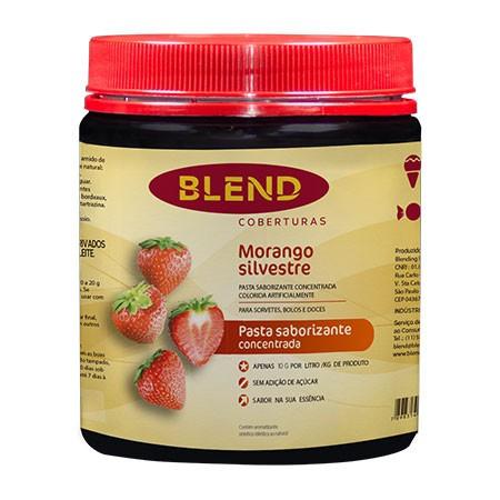 Pasta Saborizante Morango 90g - Blend