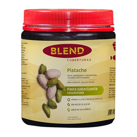 Pasta Saborizante Pistache 90g - Blend