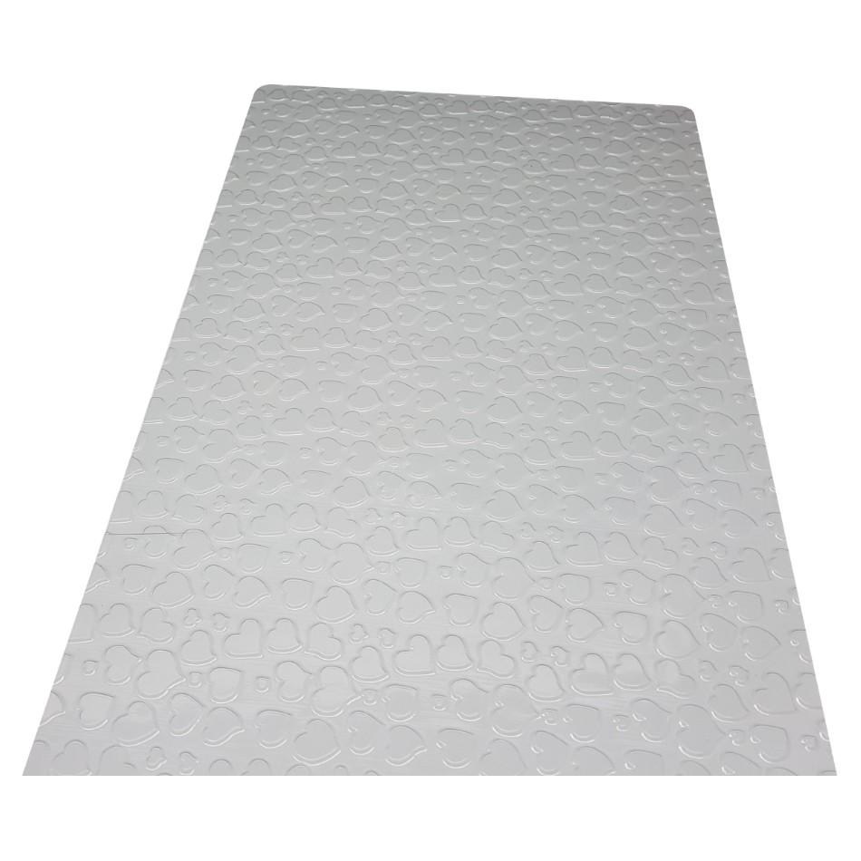 Placa de Textura Coração - BWB