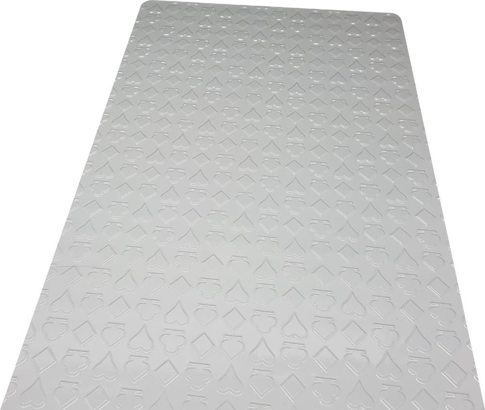 Placa de Textura Naipes - BWB