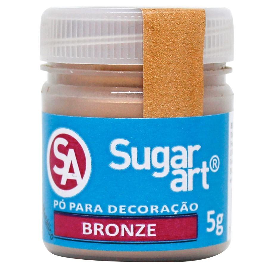 Pó p/ Decoração Bronze 3g - Sugar Art
