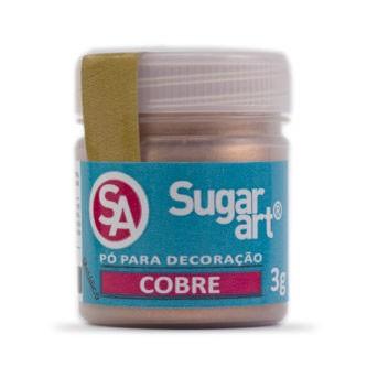Pó p/ Decoração Cobre 3g - Sugar Art