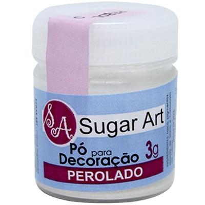 Pó p/ Decoração Perolado 3g - Sugar Art