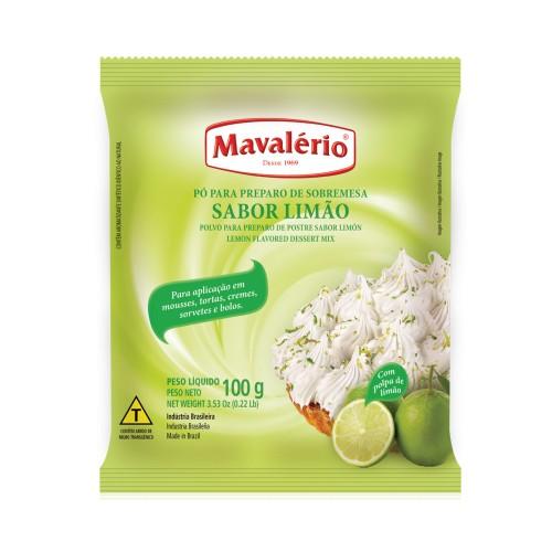 Pó p/ Preparo de Sobremesa Limão 100gr - Mavalério