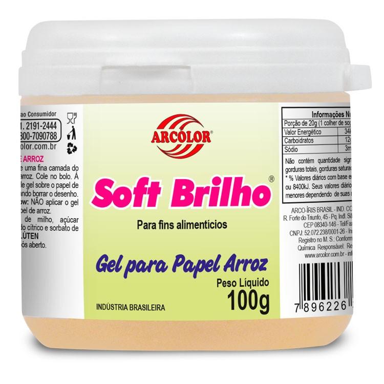 Soft Brilho p/ Papel de Arroz 100gr - Arcolor