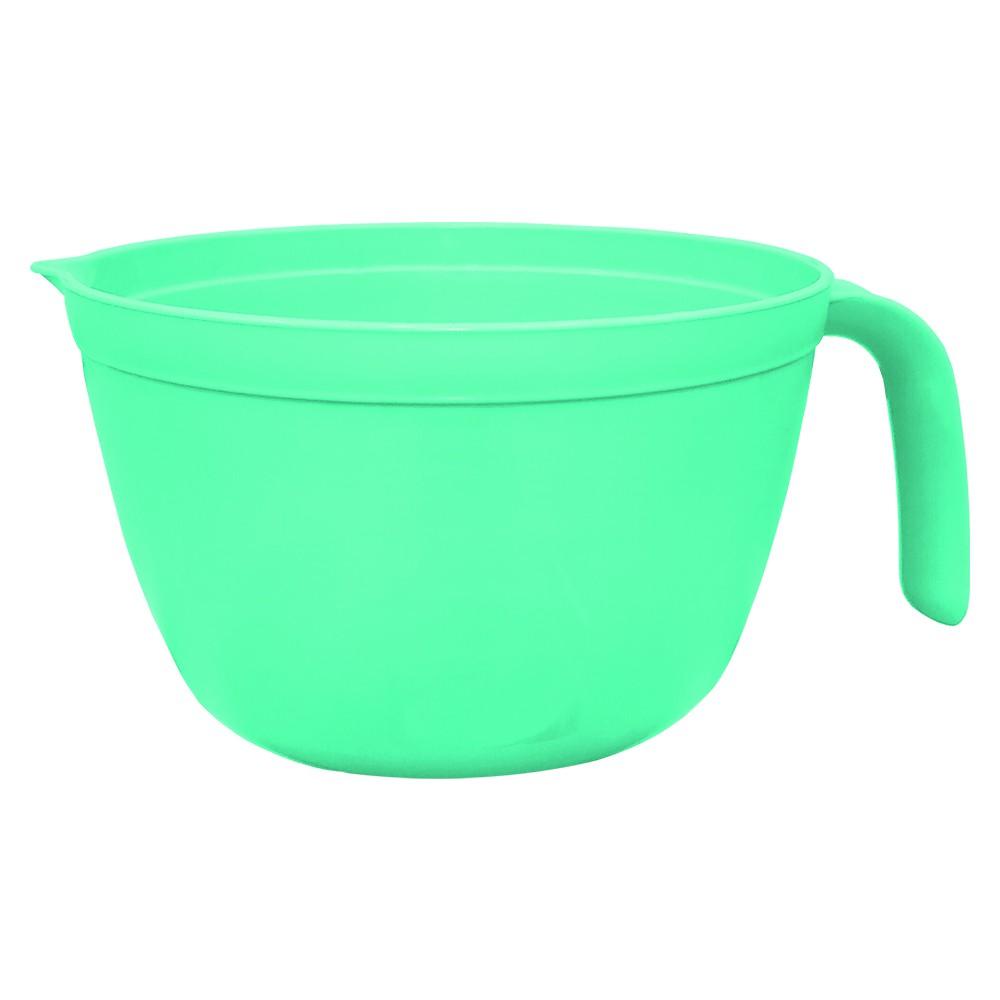 Tigela Multiuso s/ Tampa 1,5L Verde Translucido - Solrac