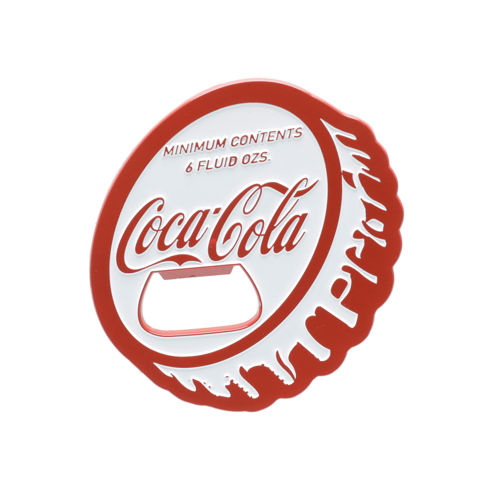 Abridor de Garrafa Magnético Coca-Cola