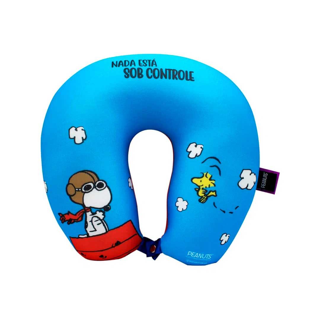 Almofada de Pescoço - Snoopy Sob-Controle