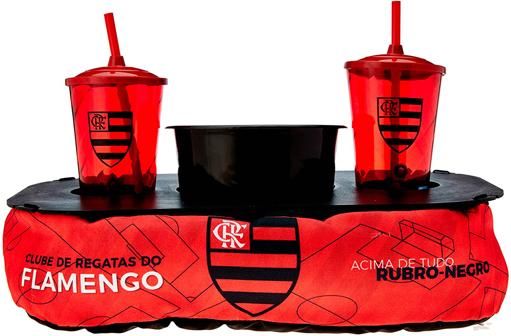 Almofada de Pipoca - Flamengo