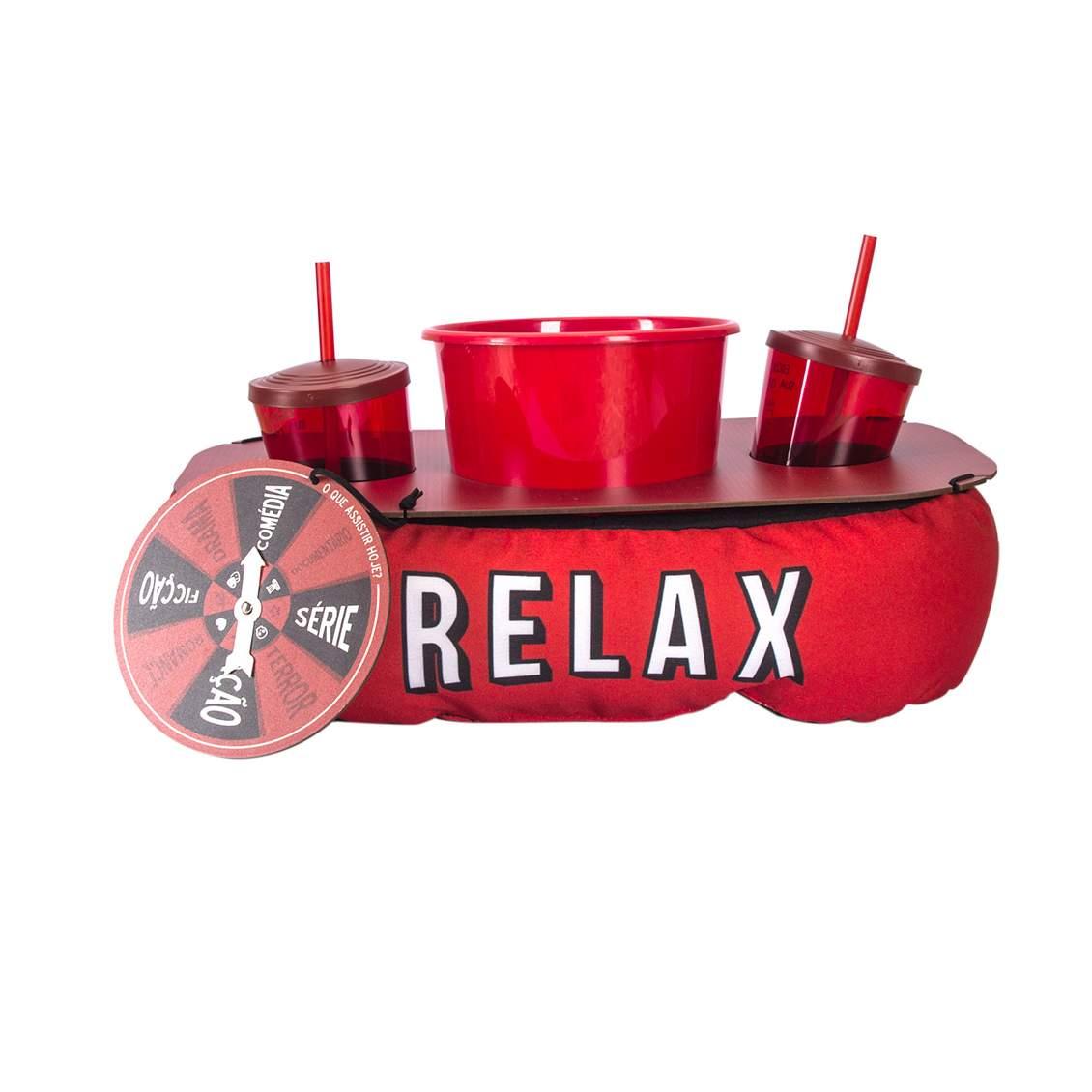 Almofada Kit Pipoca - Relax Com Roleta