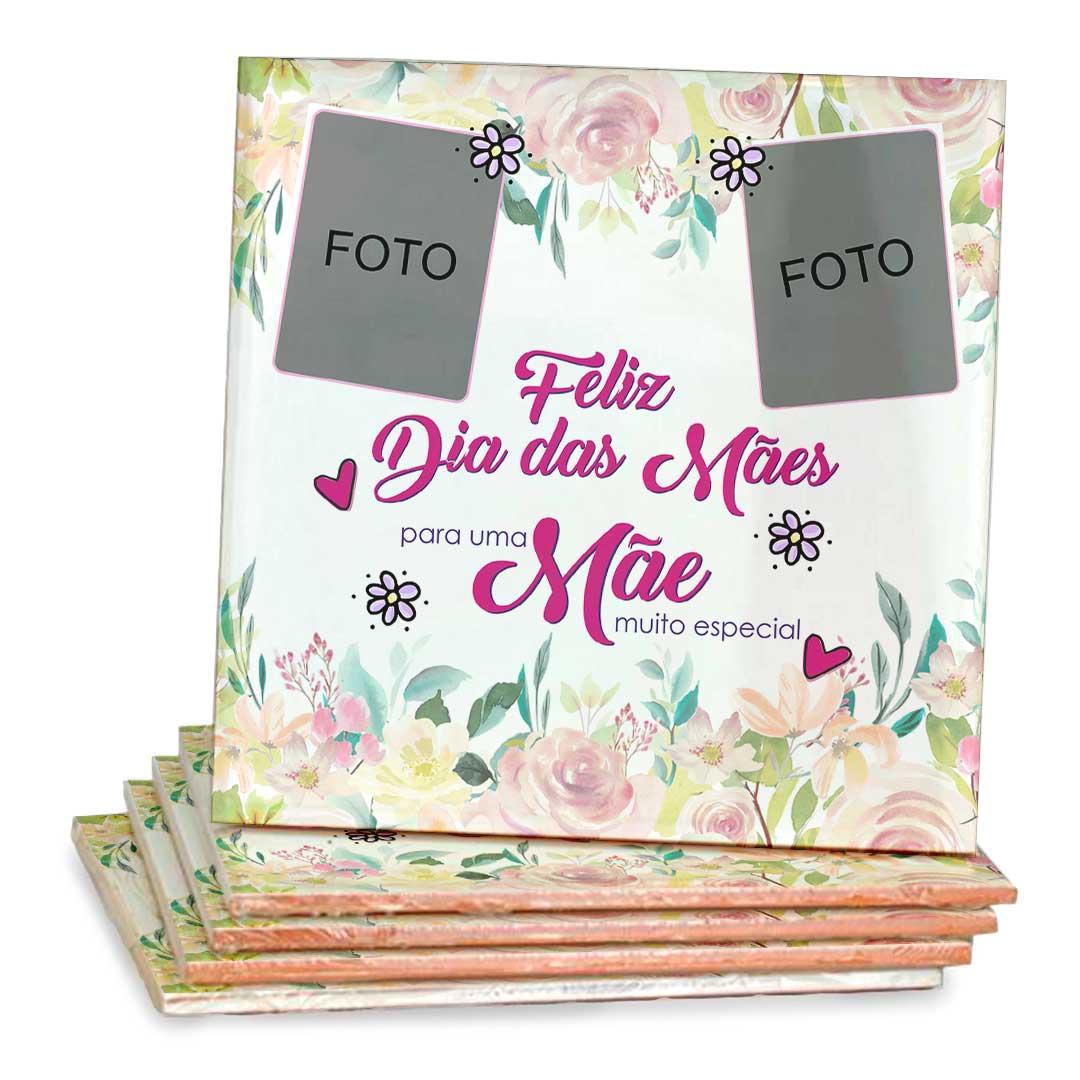 Azulejo Decorativo com Foto - Mãe Muito Especial
