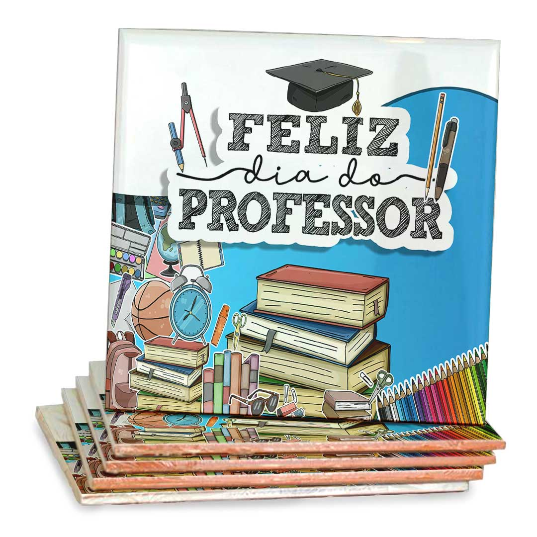 Azulejo Decorativo - Feliz dia Dos Professores